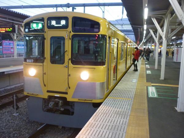 2014-12-26 西武9107F 準急池袋行き 4314レ