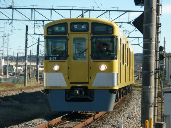 2014-12-26 西武9107F 準急飯能行き 4129レ