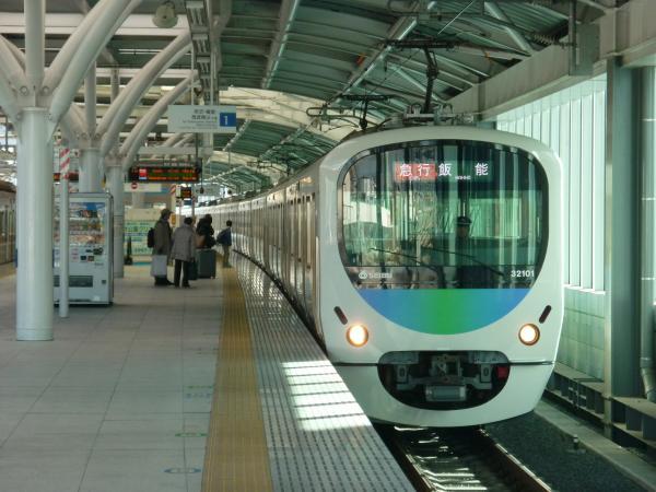 2014-12-26 西武32101F+38103F 急行飯能行き 2123レ