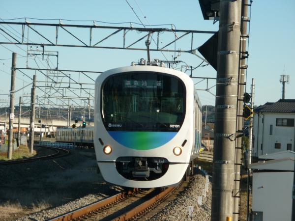 2014-12-26 西武32101F+38103F 準急飯能行き 4137レ