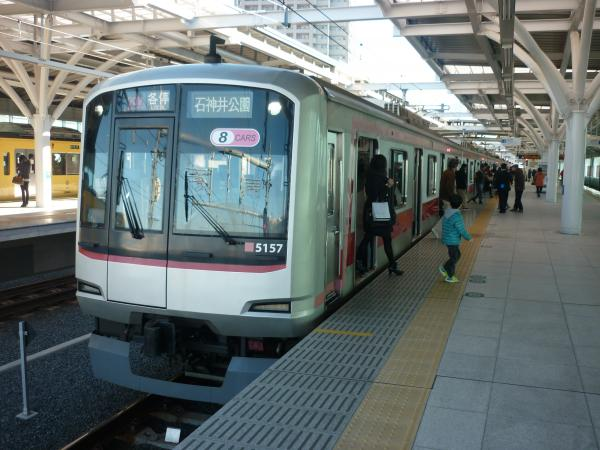 2014-12-26 東急5157F 各停石神井公園行き 6607レ