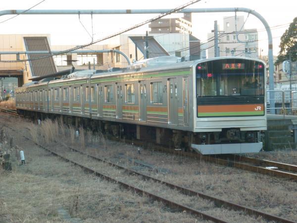 2014-12-26 八高線205系ハエ83編成 八王子行き1