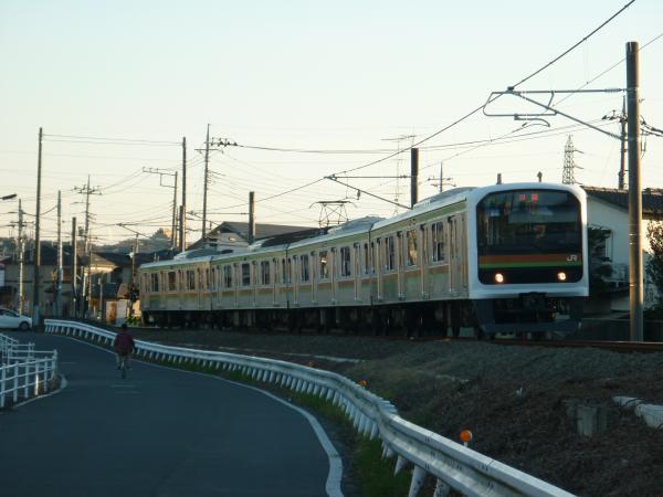 2014-12-26 八高線209系ハエ71編成 川越行き