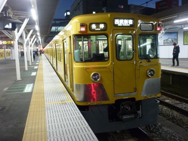 2014-12-26 西武2407F+2011F 各停西武新宿行き 5836レ