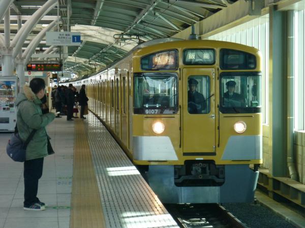 2014-12-27 西武9107F 急行飯能行き 2115レ