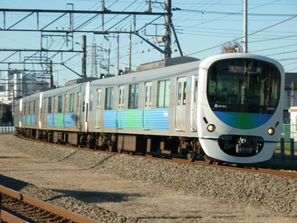 2014-12-27 西武32102F+38104F 急行池袋行き 2148レ