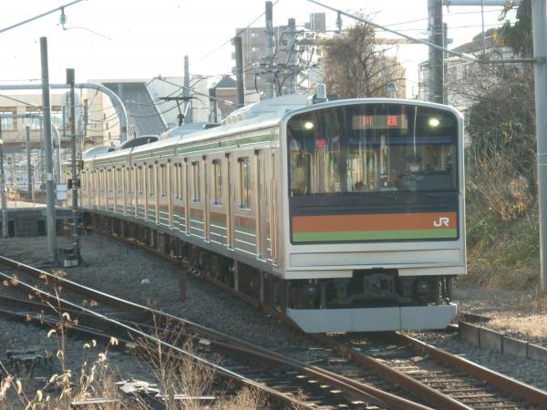 2014-12-27 八高線205系ハエ85編成 川越行き