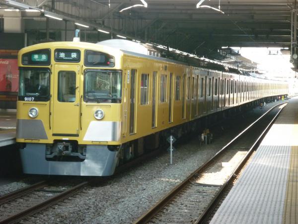 2014-12-30 西武9107F 準急池袋行き2 4126レ