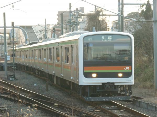 2014-12-30 八高線209系ハエ61編成 川越行き
