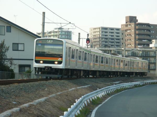2014-12-30 八高線209系ハエ63編成 八王子行き