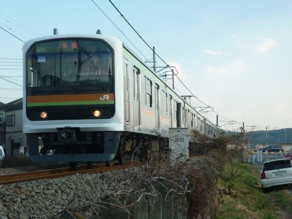 2014-12-30 八高線209系ハエ71編成 川越行き