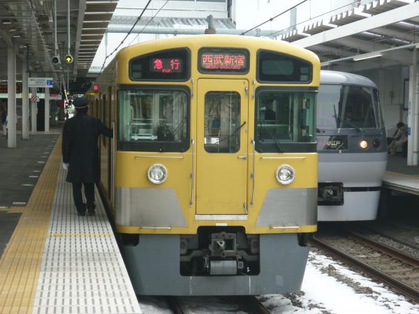2014-02-11 西武2067F 急行西武新宿行き