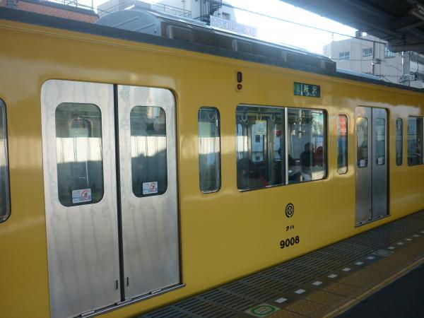 2014-02-16 西武9108F 準急所沢行き 側面写真