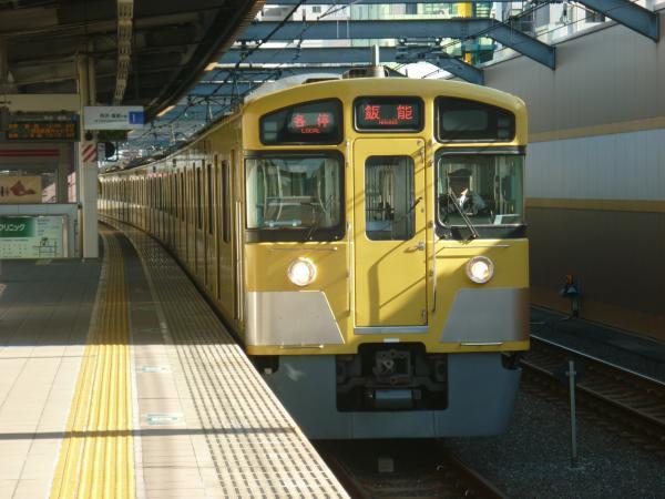 2015-01-11 西武2097F 各停飯能行き2 5113レ