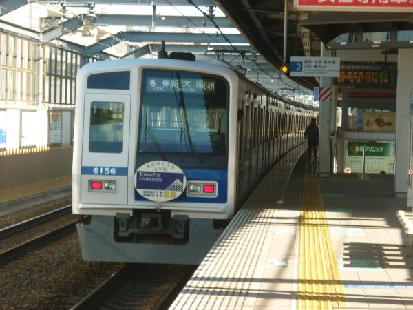 2015-01-11 西武6156F 各停新木場行き 6362レ