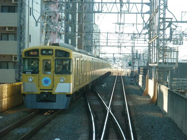 2015-01-11 西武9105F 急行飯能行き 2125レ