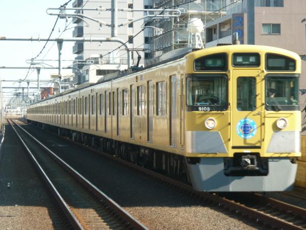 2015-01-11 西武9108F 準急飯能行き 4127レ