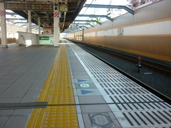 2015-01-11 中村橋駅 ホーム