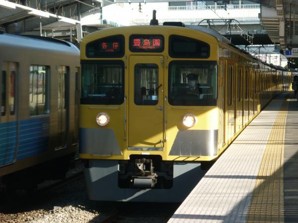2014-01-11 西武2085F 各停豊島園行き