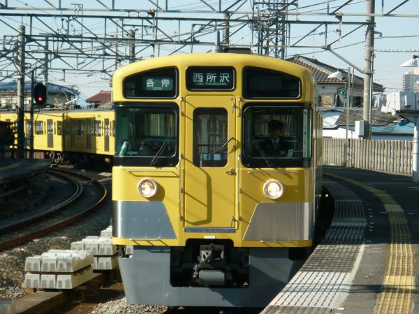 2014-01-12 西武2063F 各停西所沢行き1