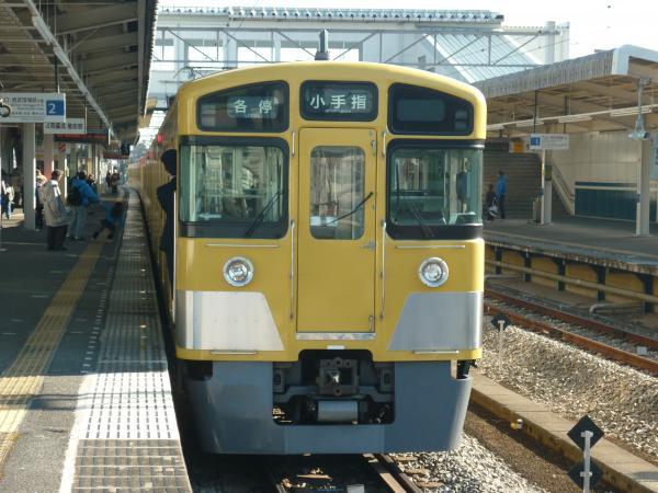 2014-01-12 西武2063F 方向幕回転中