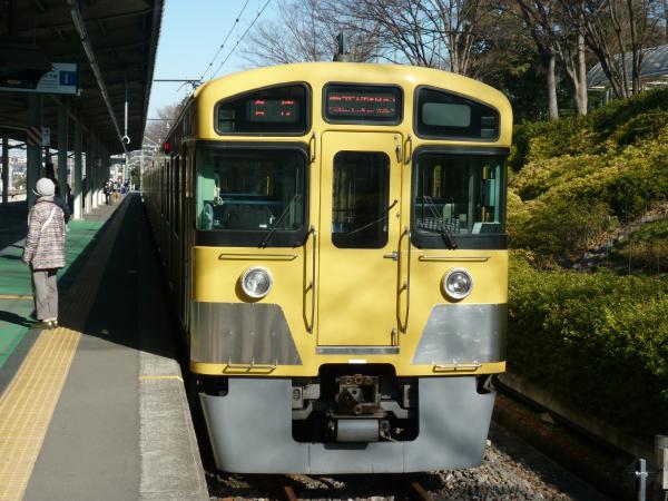 2014-01-12 西武2085F 各停西武球場前行き