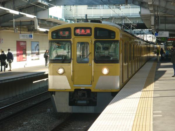 2014-01-12 西武2097F 各停豊島園行き