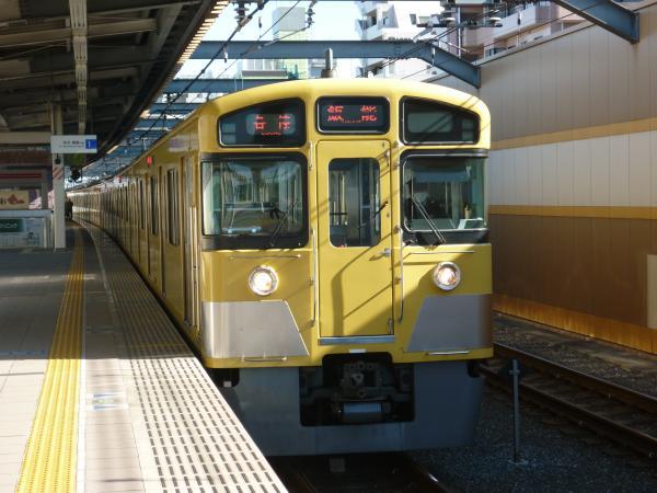 2014-01-13 西武2097F 各停飯能行き2