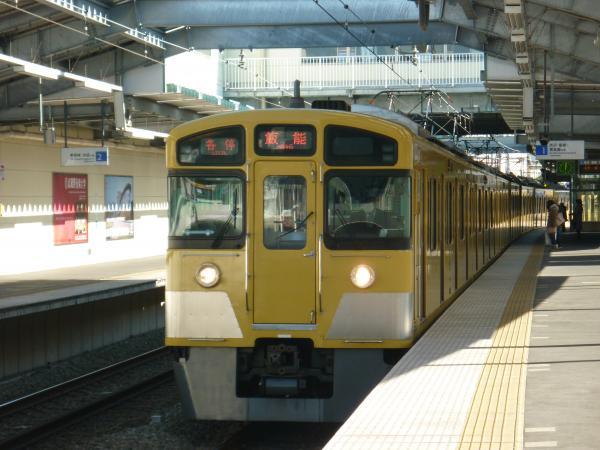 2014-01-13 西武2097F 各停飯能行き1