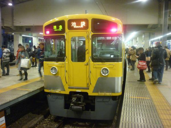 2014-01-18 西武2097F 準急池袋行き