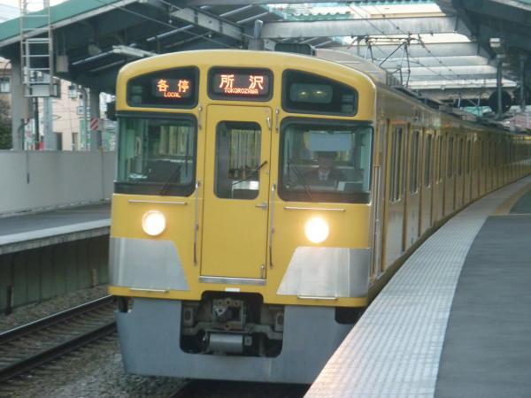 2013-11-20 西武2087F 各停所沢行き2