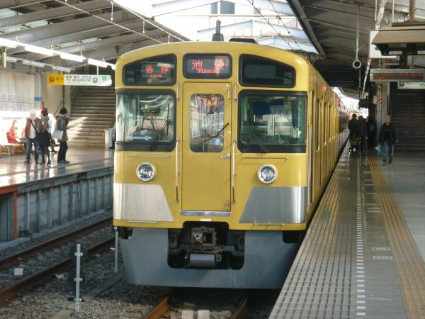 2013-11-23 西武2087F 各停池袋行き