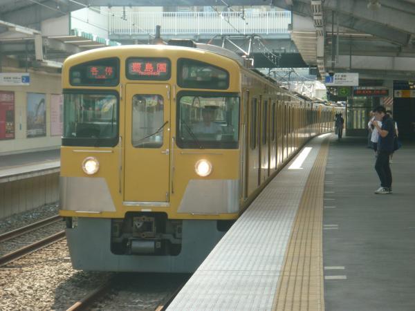 2014-07-25 西武2087F 各停豊島園行き 5437レ