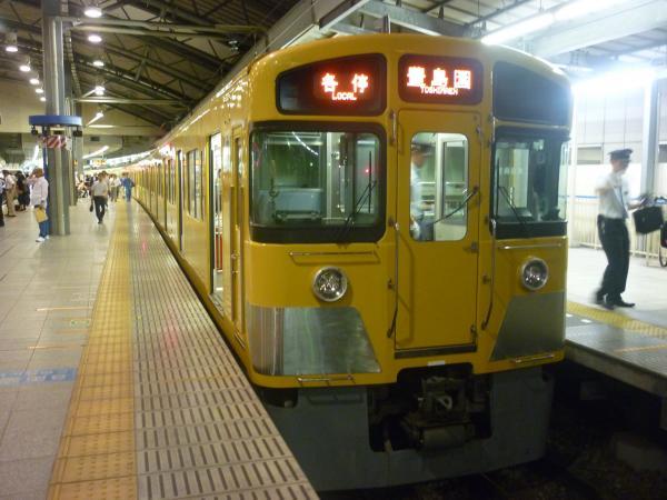 2014-10-03 西武2087F 各停豊島園行き 5513レ