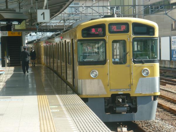 2014-10-25 西武2087F 急行池袋行き 2140レ