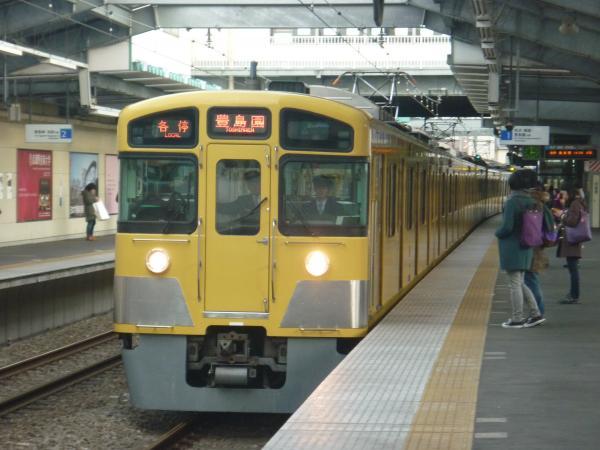 2014-12-21 西武2087F 各停豊島園行き 5477レ