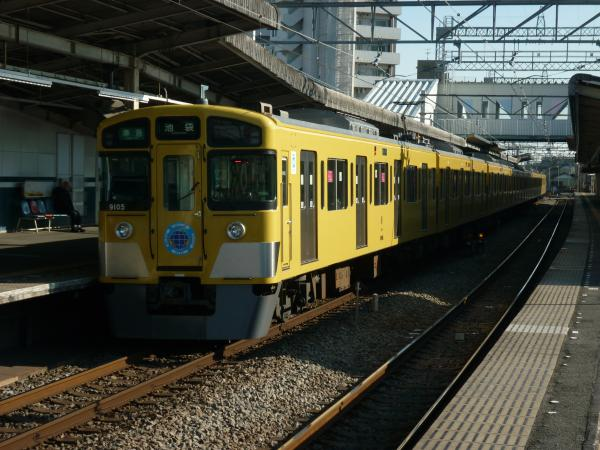2014-01-12 西武9105F 準急池袋行き1