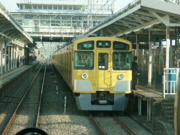 2014-02-01 西武2063F 準急飯能行き