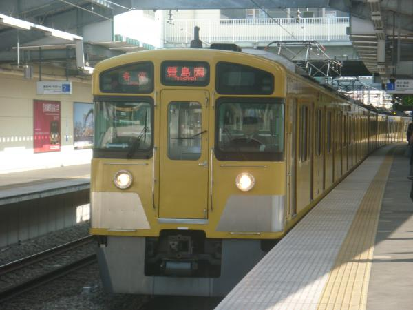 2014-02-01 西武2097F 各停豊島園行き