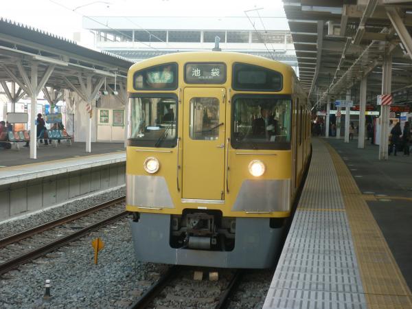 2014-02-01 西武2463F+2503F+2501F 準急池袋行き