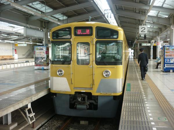 2014-02-11 西武2073F 回送