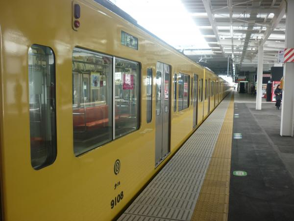 2014-02-11 西武9108F 準急所沢行き 側面写真5