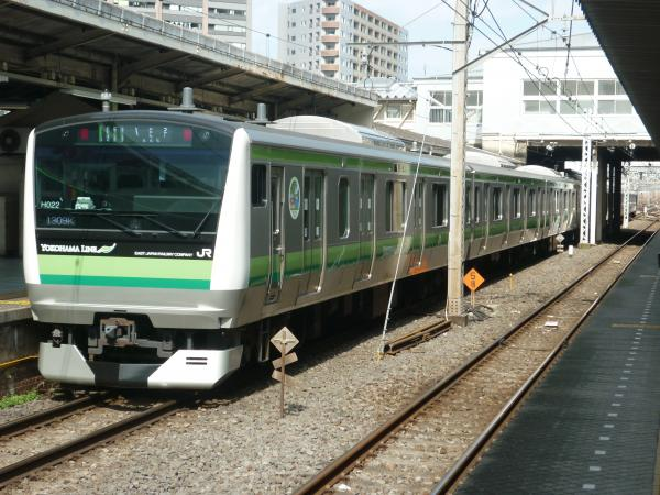 2015-02-27 横浜線E233系クラH022編成 各駅停車八王子行き1