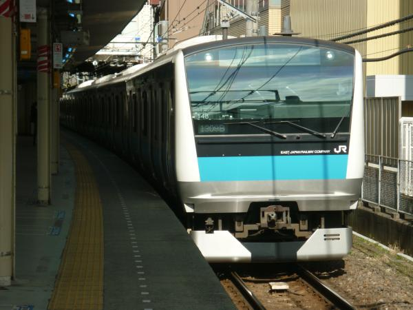 2015-02-27 京浜東北線E233系ウラ148編成 各駅停車磯子行き1