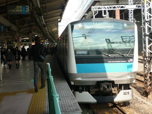 2015-02-27 京浜東北線E233系ウラ148編成 各駅停車磯子行き2