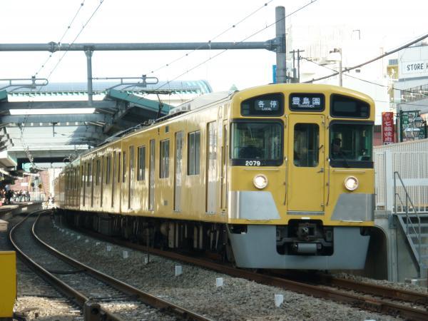 2015-02-28 西武2079F 各停豊島園行き 5477レ