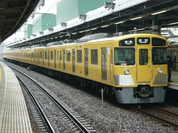 2015-03-01 西武2069F 各停所沢行き 5303レ
