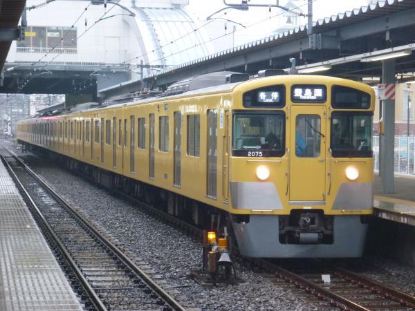 2015-03-01 西武2075F 各停豊島園行き 5475レ