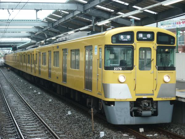 2015-03-01 西武2079F 各停保谷行き 5717レ