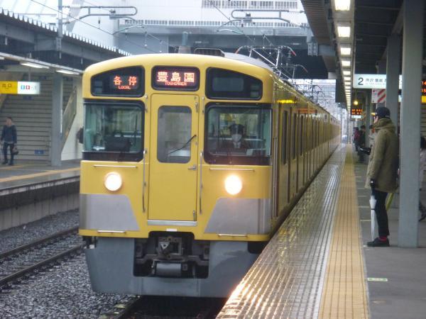 2015-03-01 西武2097F 各停豊島園行き 5477レ